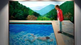 David Hockney's Portrait of an Artist (Pool with Two Figures) at Christie's New York