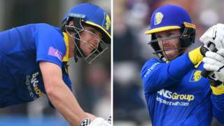 Durham's Alex Lees made 78 not out, while Graham Clark hit 66