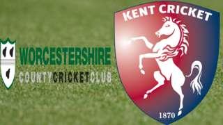 Worcestershire v Kent