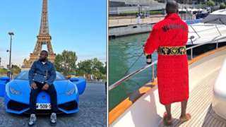 Hushpuppi like products by Italian designer Gucci