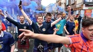 Fans Skotlandia