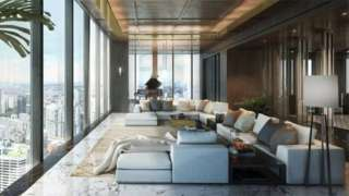 Sir James Dyson's Singapore penthouse flat.