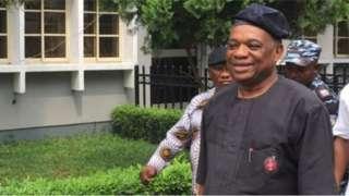 Kalu na member of President Muhammadu Buhari's All Progressives Congress