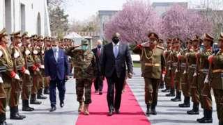 काबुल पहुंचे अमेरिकी रक्षा मंत्री