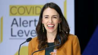 Prime Minister Jacinda Ardern speaks to media during a post cabinet press conference at Parliament on June 08, 2020 in Wellington, New Zealand