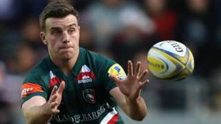 Leicester Tigers' George Ford