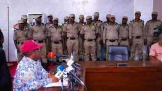 Ebonyi state news: Dave Umahi on Ebubeagu and uknown gunmen attacks in Ebonyi state