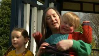 Mother and child with Down's Syndrome