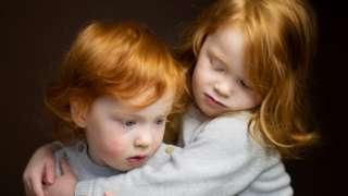 рыжие дети