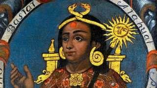 Ilustração de Atahualpa