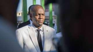 Haiti Cumhurbaşkanı Jovenel Moise