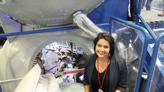 Dr Varsha Jain at NASA