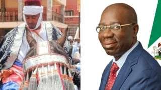 Gomina Godwin Obaseki ati Sultan Shuwa