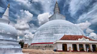 Cidade sagrada de Anuradhapura, no Sri Lanka