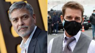 George Clooney and Tom Cruise