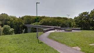 Whitleigh footbridge, Plymouth. Pic: Google