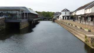 Riverside in Haverfordwest