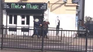 Arrested man on Holloway Road
