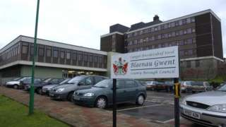 Blaenau Gwent Civic Centre, Ebbw Vale