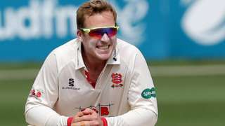 Essex's Simon Harmer has the most Championship wickets by a spin bowler this season