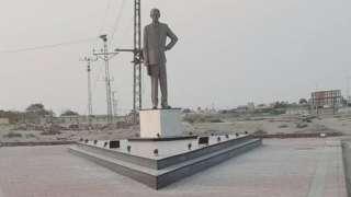 قائد اعظم کا مجسمہ