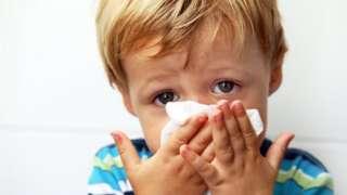 dete prehlađeno