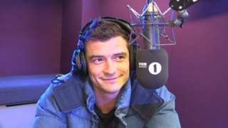 Orlando Bloom - R1 interview - 26/4/17