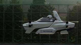 Испытательный полет SD-03 в Японии в августе 2020 года