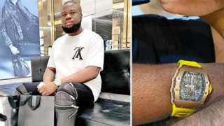 US Authorities allege say Hushpuppi use of out di $1.1m to buy $230,000 wrist watch