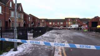 A man in his 20s was critically injured in the attack in the Carrick Hill area