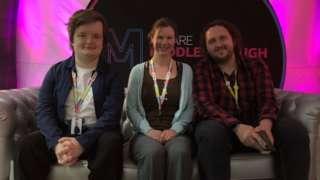 James Woodgate, Nicola Hunt and Andy Appleyard