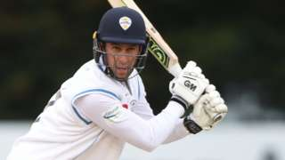 Wayne Madsen batting for Derbyshire