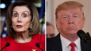 Pelosi ve Trump