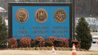 NSA entrance sign