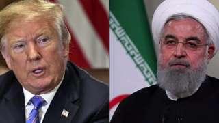 Rais Trump na Hassan Rouhani