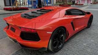 Lamborghini in China.