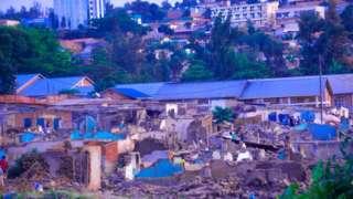 Bamwe bari bategereje icyo perezida Kagame azavuga kuri ibi bikorwa bikomeje