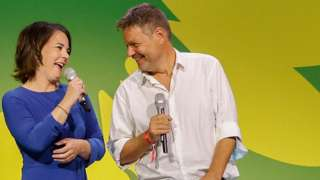 The co-leaders of Germany's Green party, Annalena Baerbock and Robert Habeck