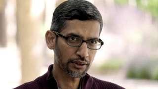 Sundar Pichai is the chief executive of both Google and its parent company Alphabet