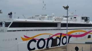 Condor Liberation in harbour