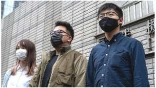 ဂျိုရှုဝါ ဝေါင်း အပါအဝင် ထောင်ဒဏ်ချမှတ်ခံရတဲ့ လူငယ် ၃ ဦး