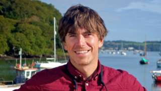 Presenter Simon Reeve