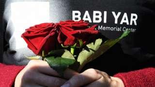 Мероприятие в Киеве в память жертв нацистских преступлений в Бабьем Яру