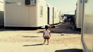 یونان، د کډوالو کمپ