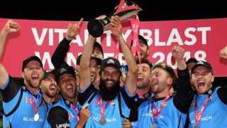Worcestershire win T20 Blast
