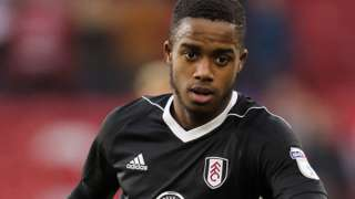 Ryan Sessegnon in action for Fulham