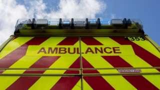West Midlands ambulance