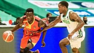 Uganda - Nigeria mu nkino Afrobasket