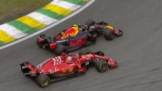 Verstappen overtake