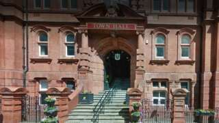 Wigan town hall - Council office